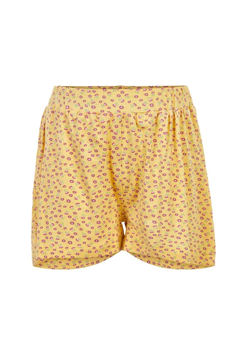 Pantaloni scurti cu imprimeu floral imagine fashiondays.ro