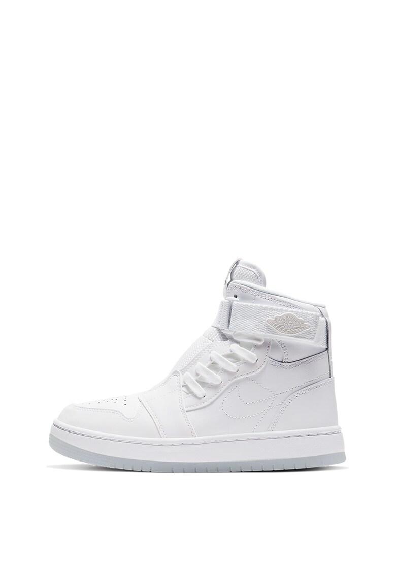 Pantofi sport mid-cut cu garnituri de piele Air Jordan Nova