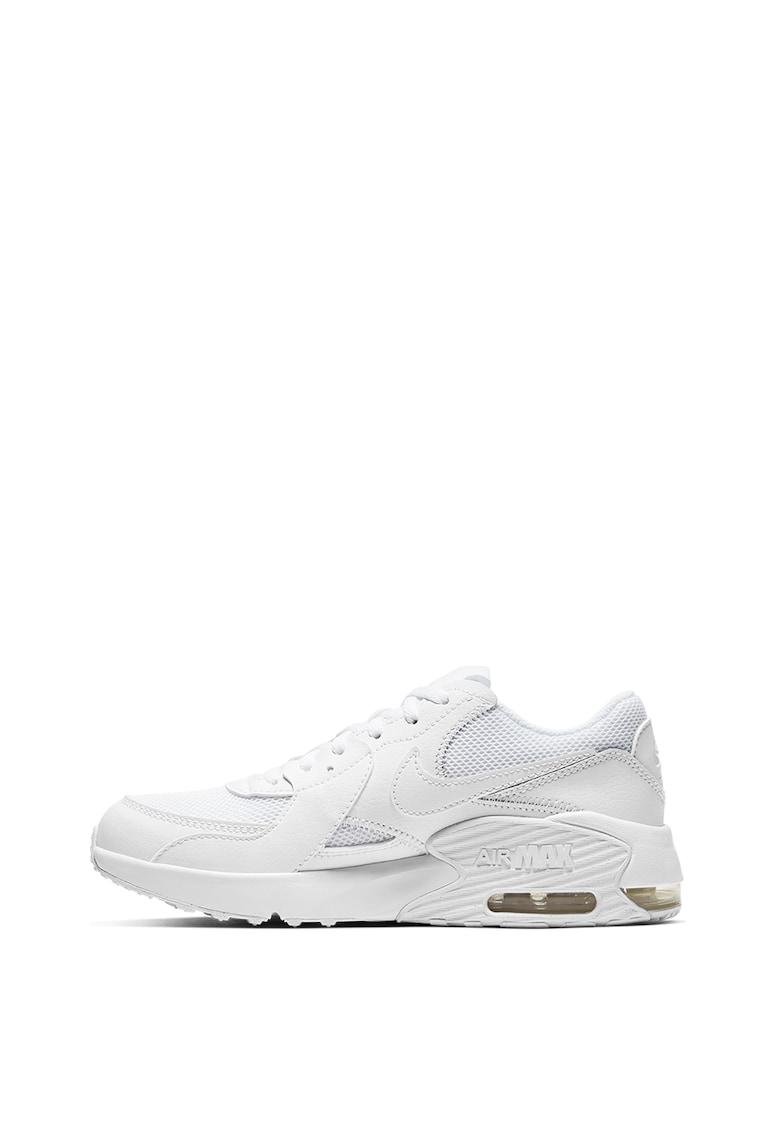 Nike Pantofi sport cu amortizare si garnituri de piele Air Max Excee