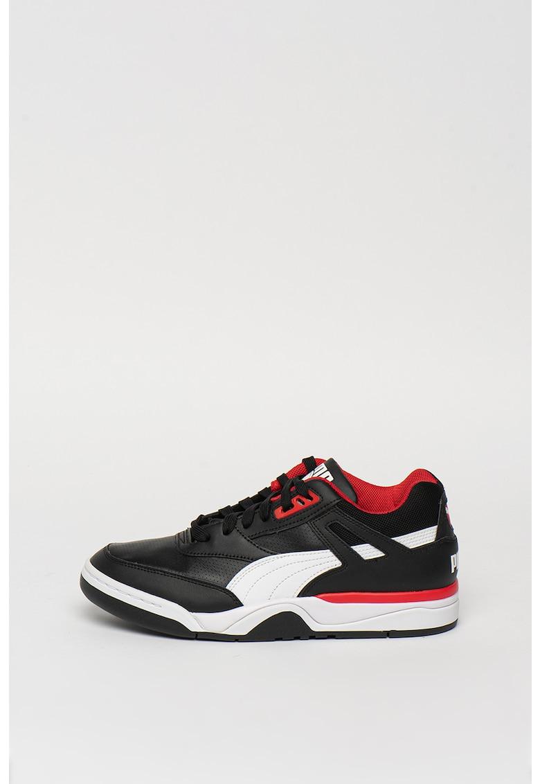 Pantofi sport de piele - cu insertii textile Palace Guard imagine