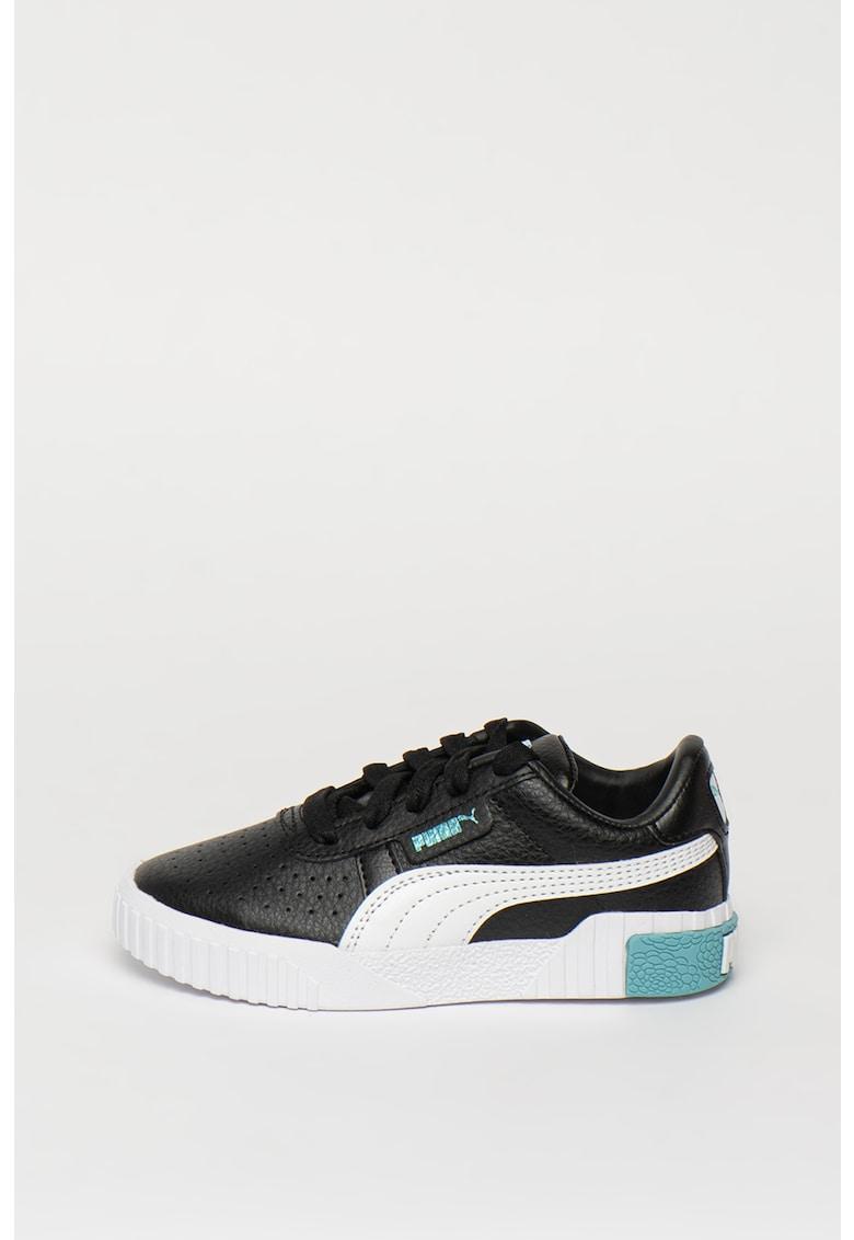 Pantofi sport de piele cu garnitura contrastanta Cali imagine