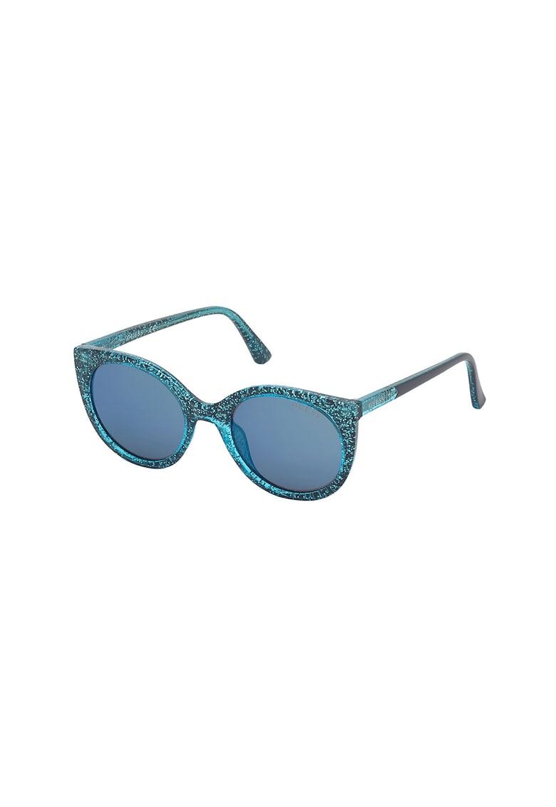 Ochelari de soare rotunzi cu particule stralucitoare poza fashiondays