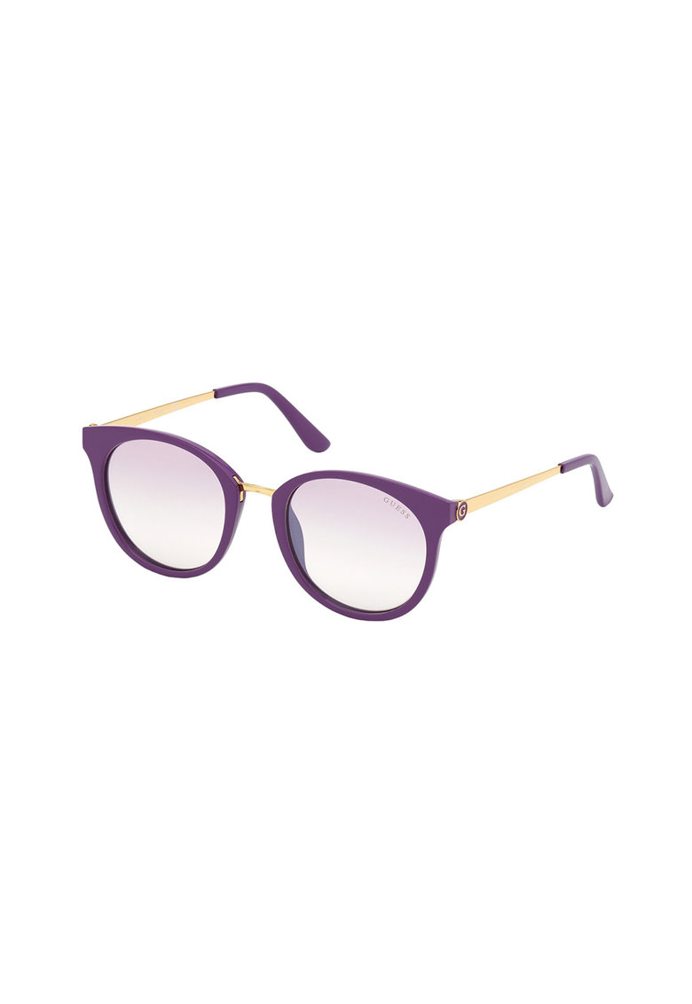 Ochelari de soare cu model colorblock si logo discret imagine fashiondays.ro
