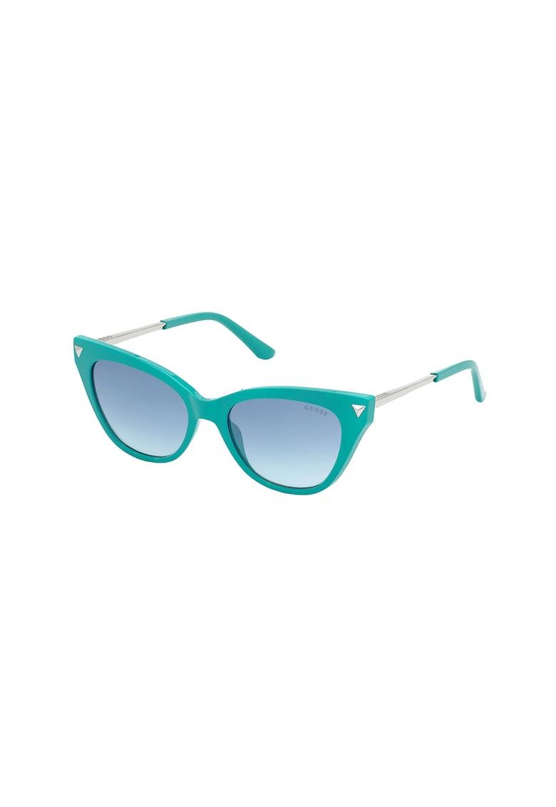 Ochelari de soare cat-eye cu lentile in degrade imagine