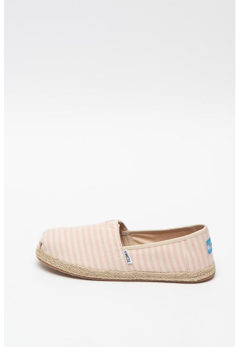 Pantofi loafer cu dungi Blossom imagine