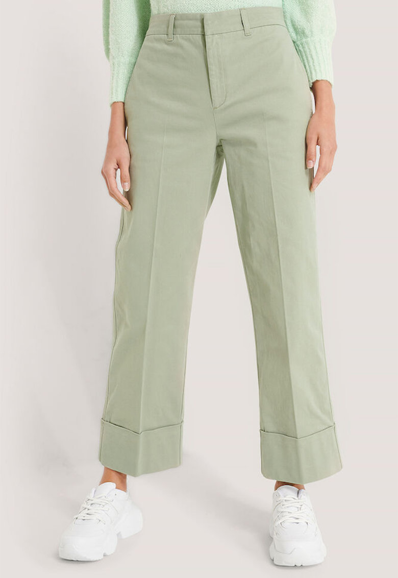 Pantaloni cu terminatie pliabila imagine fashiondays.ro