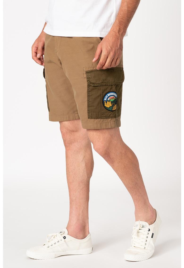 Pantaloni scurti cu buzunare contrastante Nishop