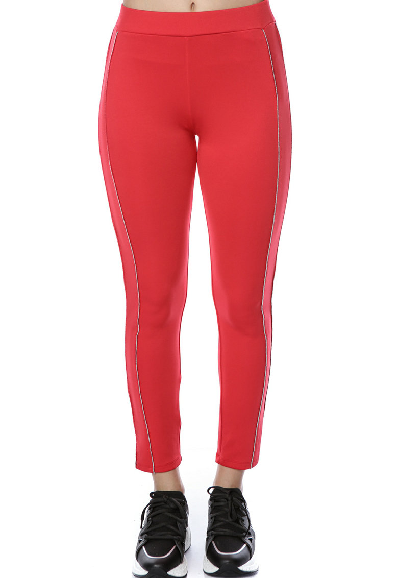 Pantaloni sport cu benzi laterale