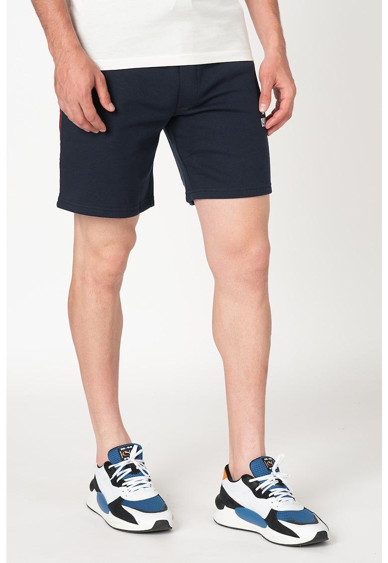 Pantaloni scurti sport cu snur de ajustare in talie Lion