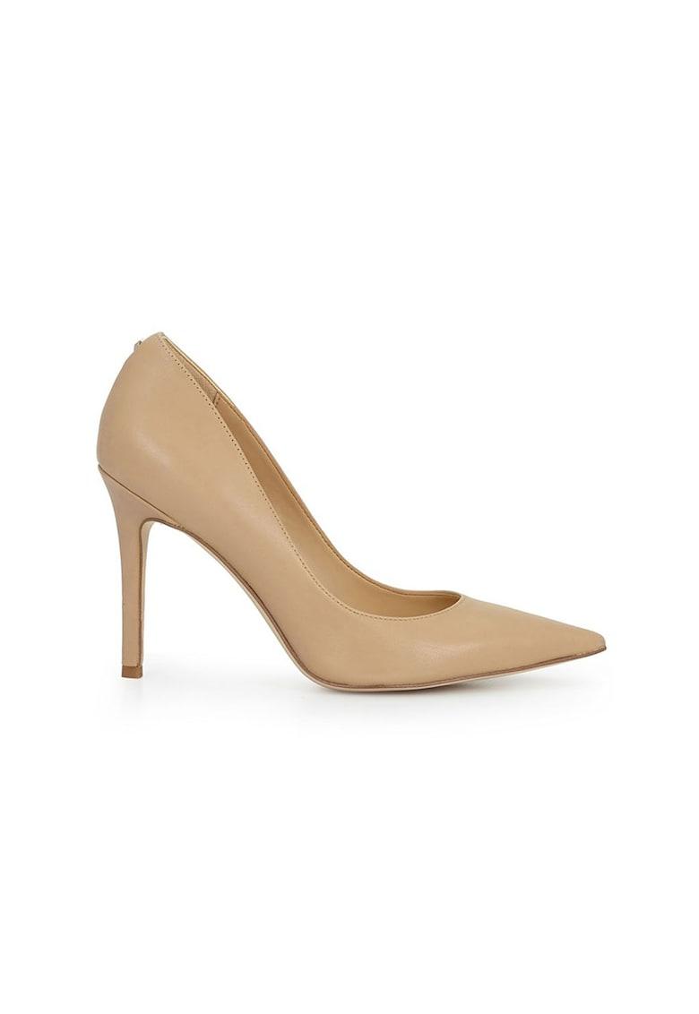 Pantofi de piele cu varf ascutit Hazel
