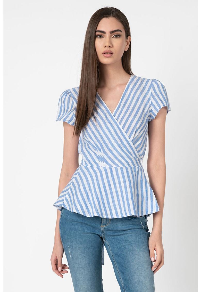 Bluza de in cu model in dungi