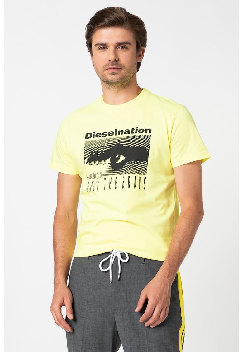 Tricou cu imprimeu grafic Diego