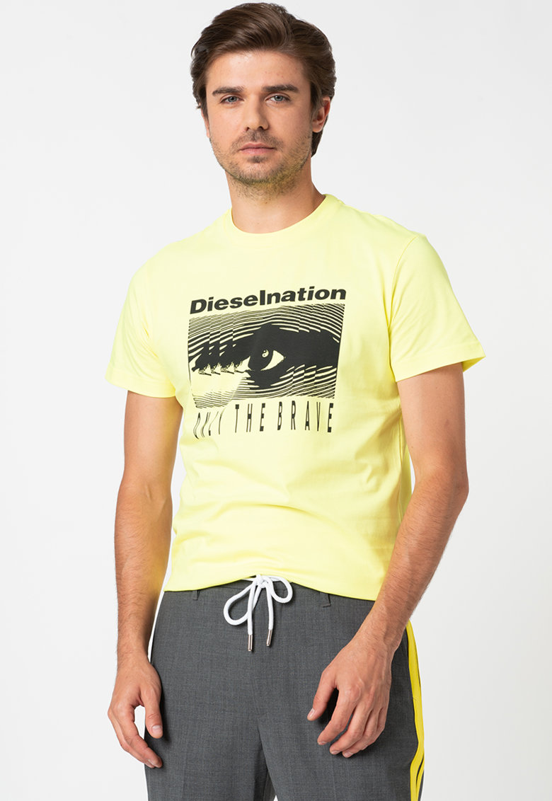 Tricou cu imprimeu grafic Diego Bărbați imagine