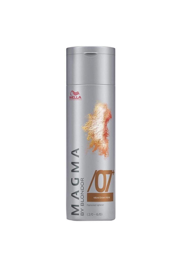 Vopsea de par pudra  Magma 07+ pentru suvite - 120 g