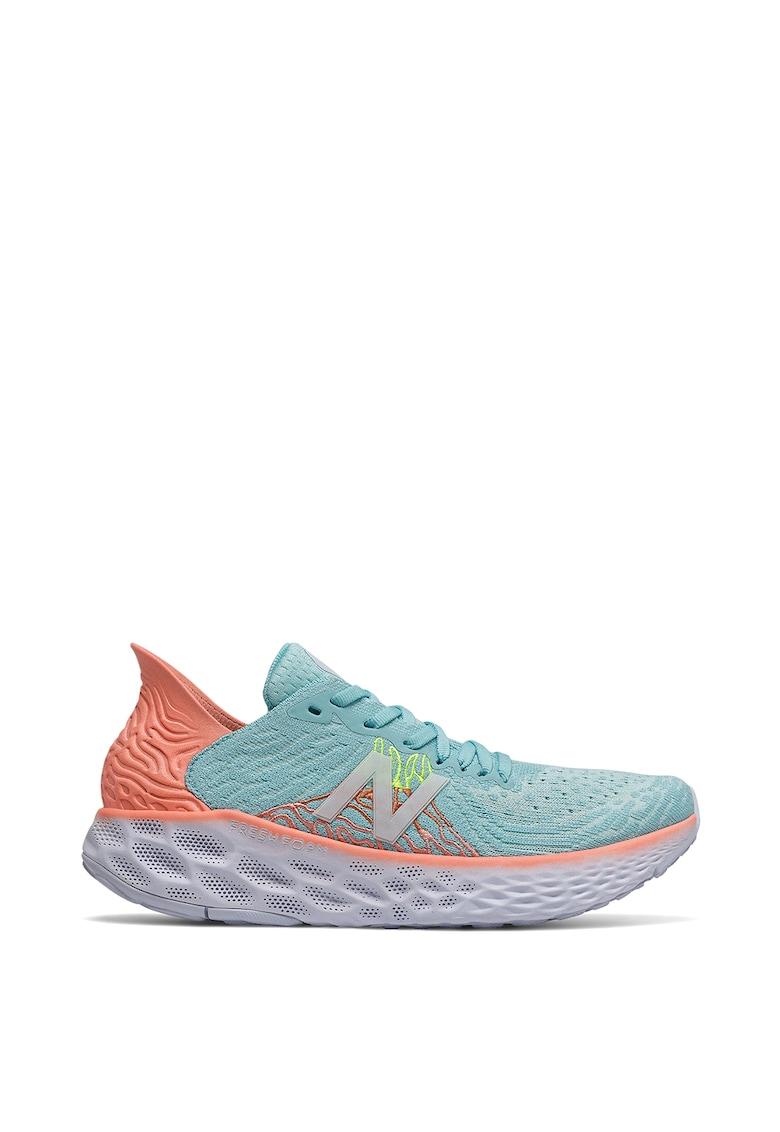 Pantofi de plasa cu aspect tricotat - pentru alergare