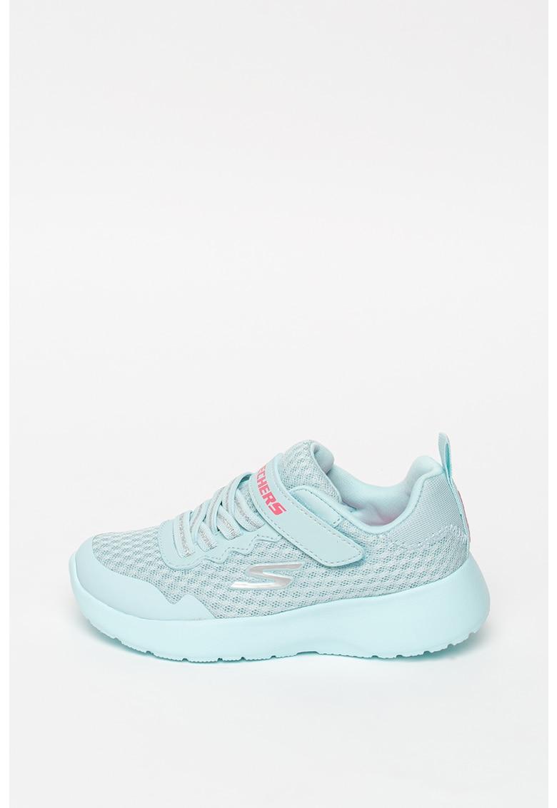 Pantofi sport de plasa tricotata cu inchidere velcro Dynamight - Lead Runner