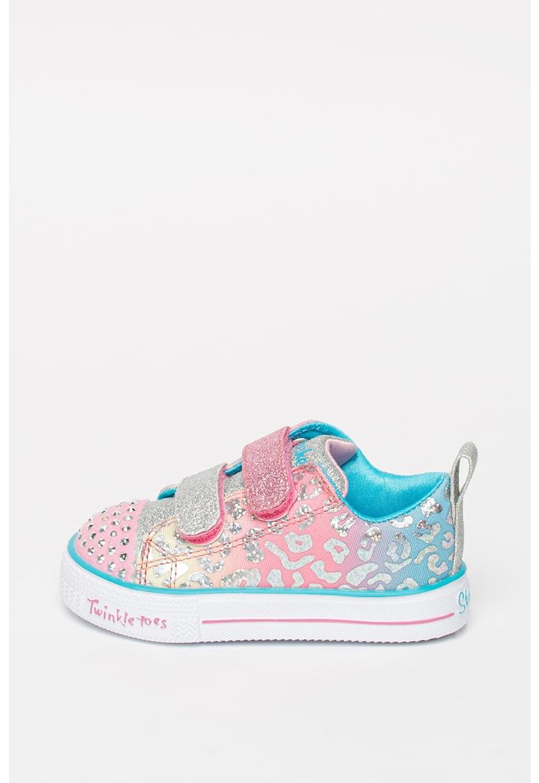 Pantofi sport cu aplicatii din strasuri S-Lights Twinkle Toes