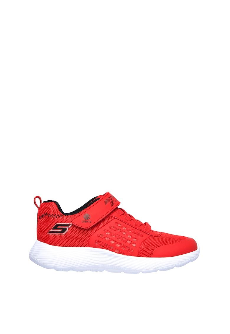 Pantofi sport de plasa cu detalii peliculizate Dyna-Lights