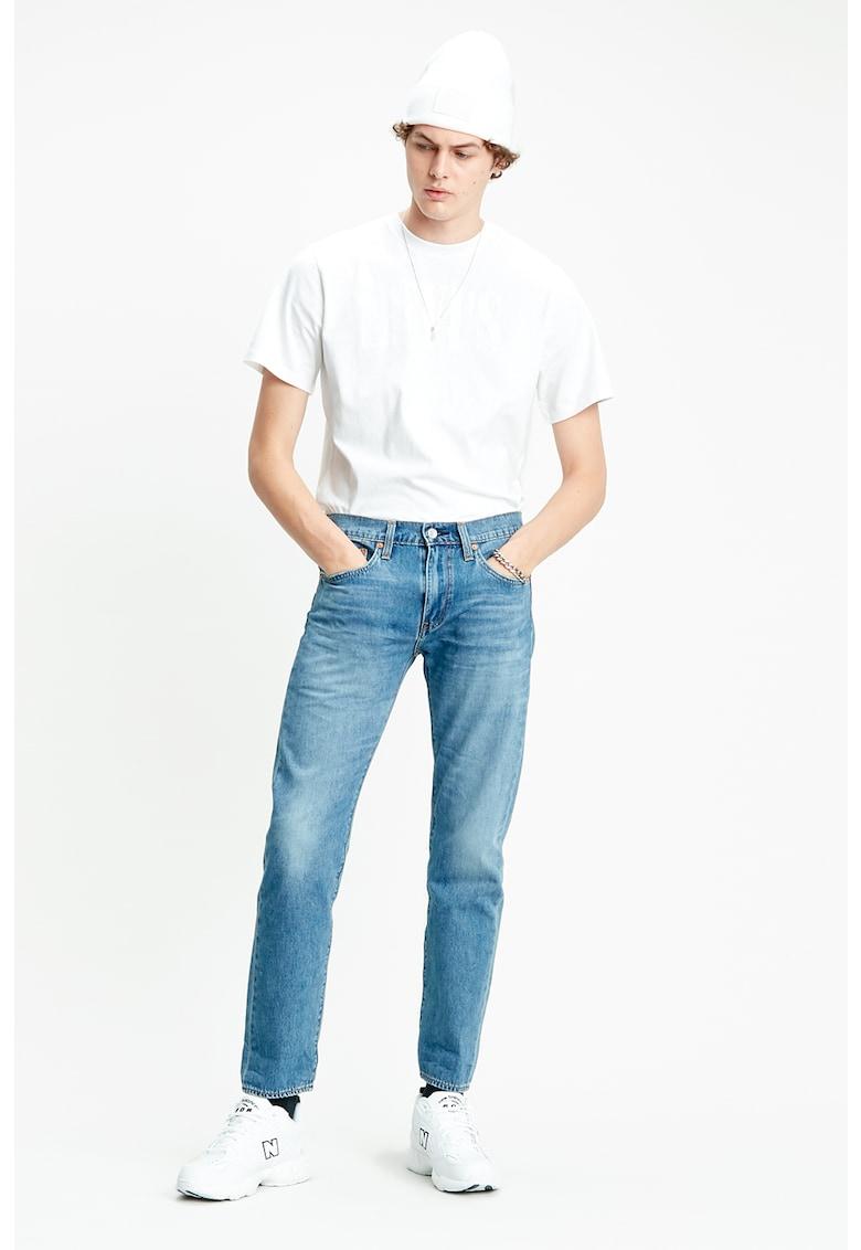 Blugi conici din amestec de lyocell imagine fashiondays.ro Levi's