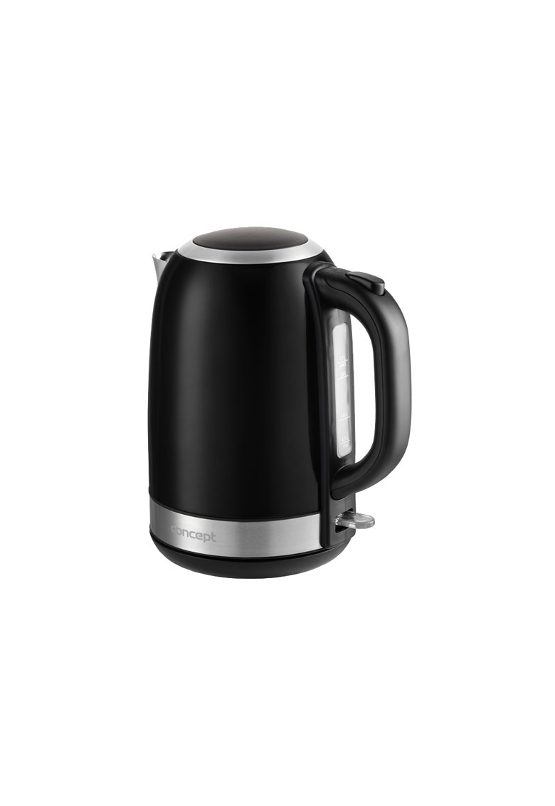 Fierbator - 2200 W - 1.7 l - filtru detasabil - Negru imagine fashiondays.ro 2021