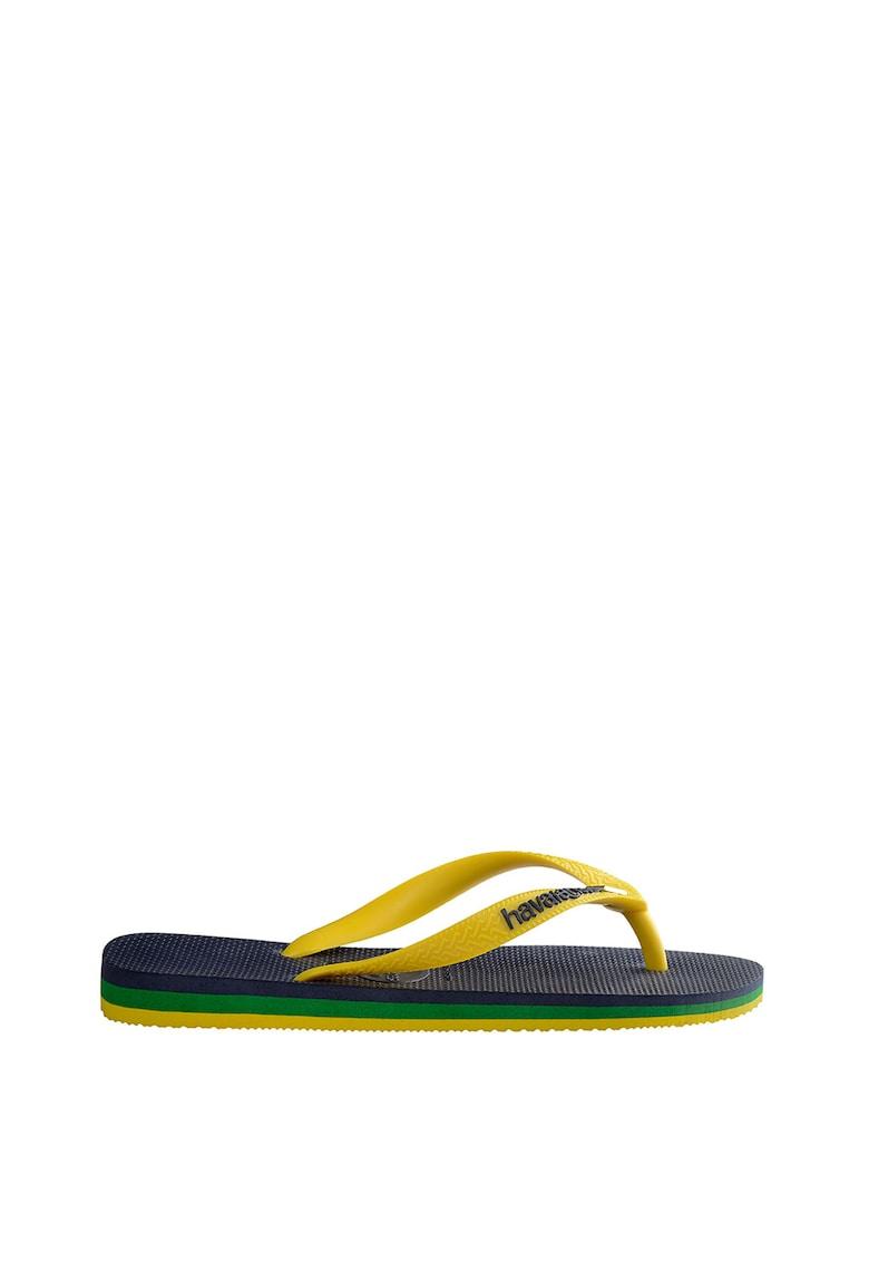Papuci flip-flop unisex Brasil Layers
