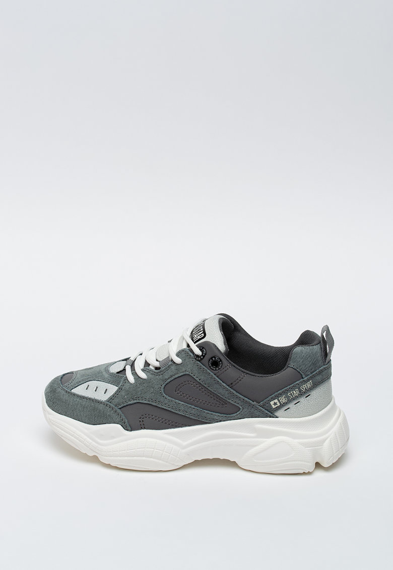 Pantofi sport cu aspect masiv imagine fashiondays.ro