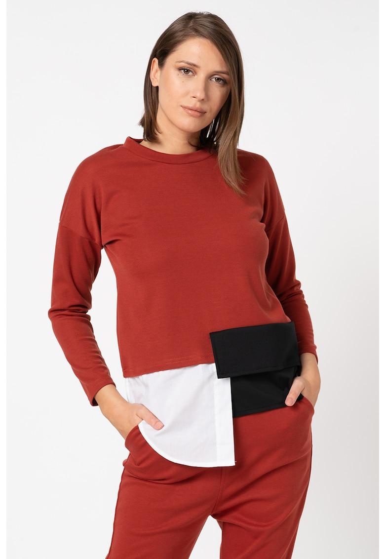 Bluza asimetrica imagine
