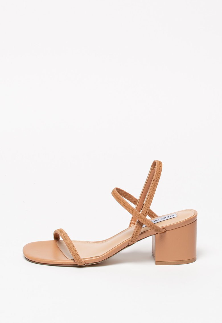 Sandale de piele ecologica - cu toc masiv Inessa fashiondays.ro