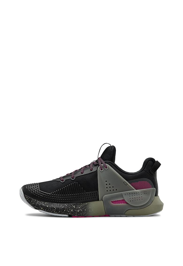 Pantofi cu talpa cu pete decorative - pentru fitness HOVR™ Apex