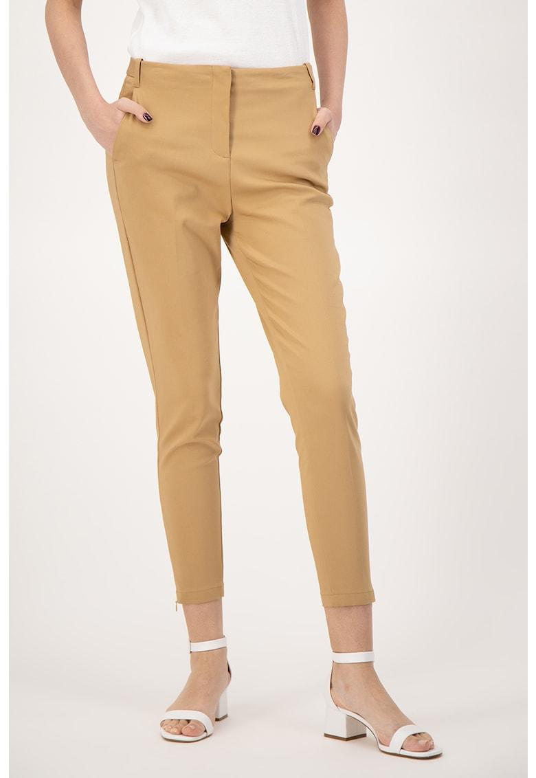 Pantaloni eleganti cu buzunare oblice fashiondays.ro
