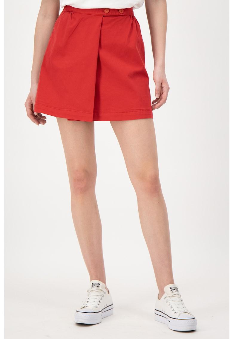 Fusta mini cu model petrecut imagine fashiondays.ro
