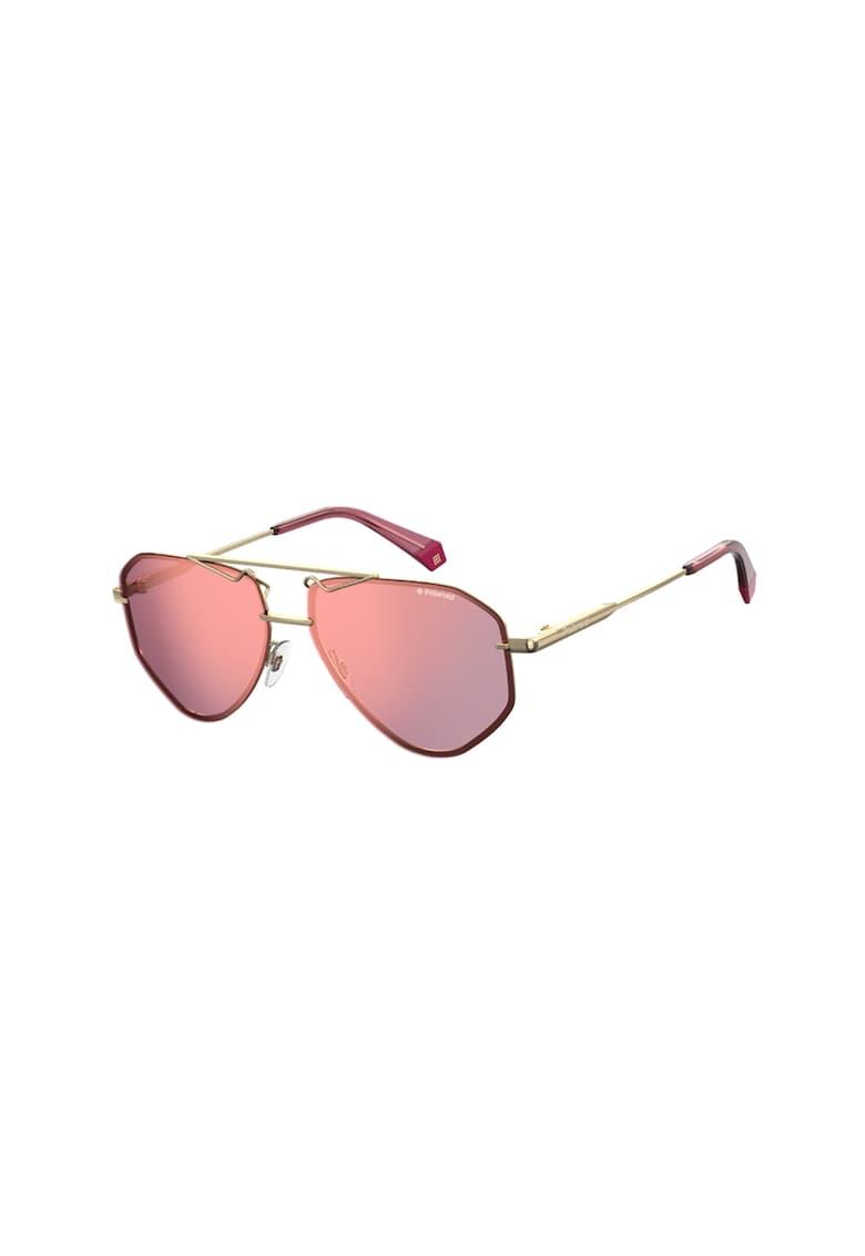 Ochelari de soare aviator unisex - cu lentile polarizate imagine fashiondays.ro Polaroid
