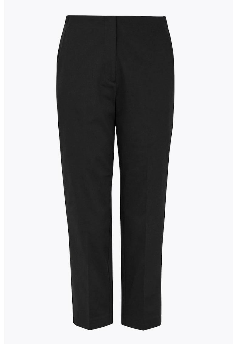 Pantaloni eleganti cu buzunare laterale imagine