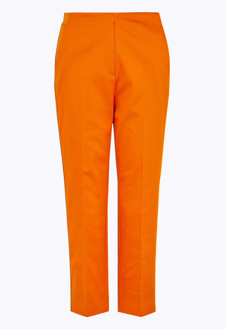 Pantaloni eleganti cu buzunare laterale