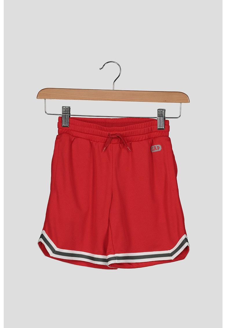 Pantaloni sport scurti cu snur in talie poza fashiondays