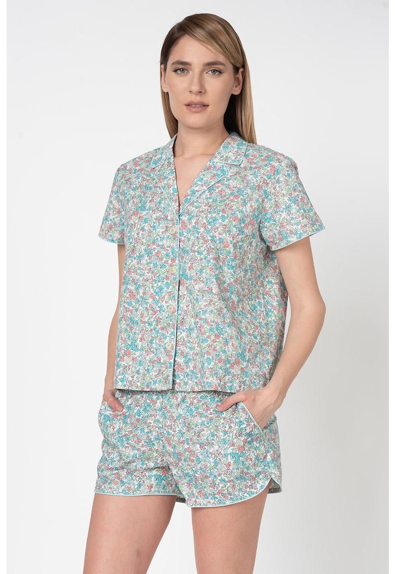 Camasa de pijama cu maneci scurte imagine