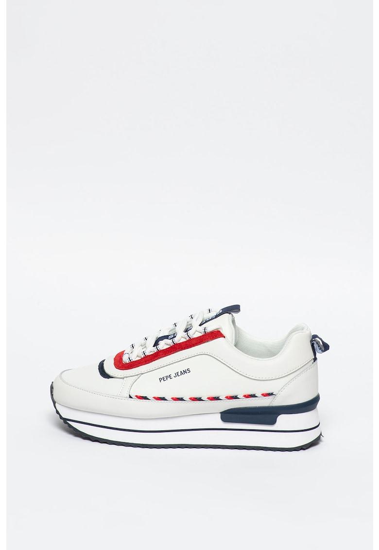 Pantofi sport slip-on de piele cu par scurt Jacinta 3