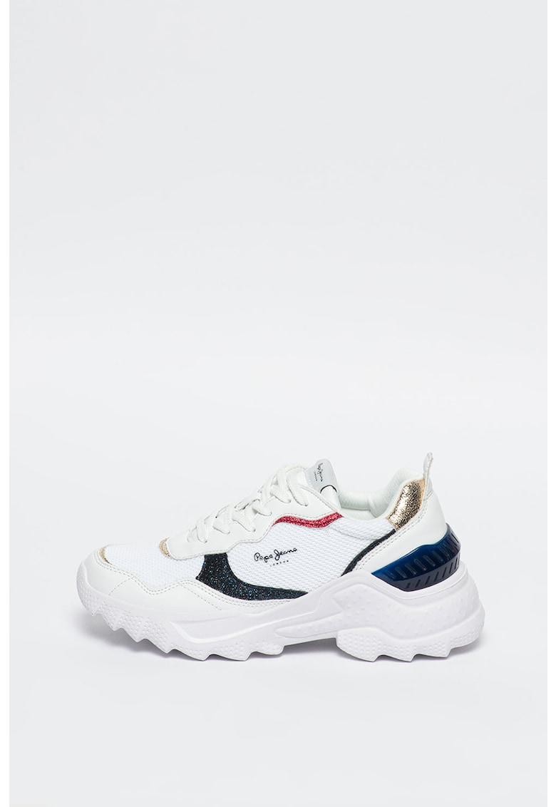 Pantofi sport unisex cu model colorblock LQD Cell Omega Lab 2
