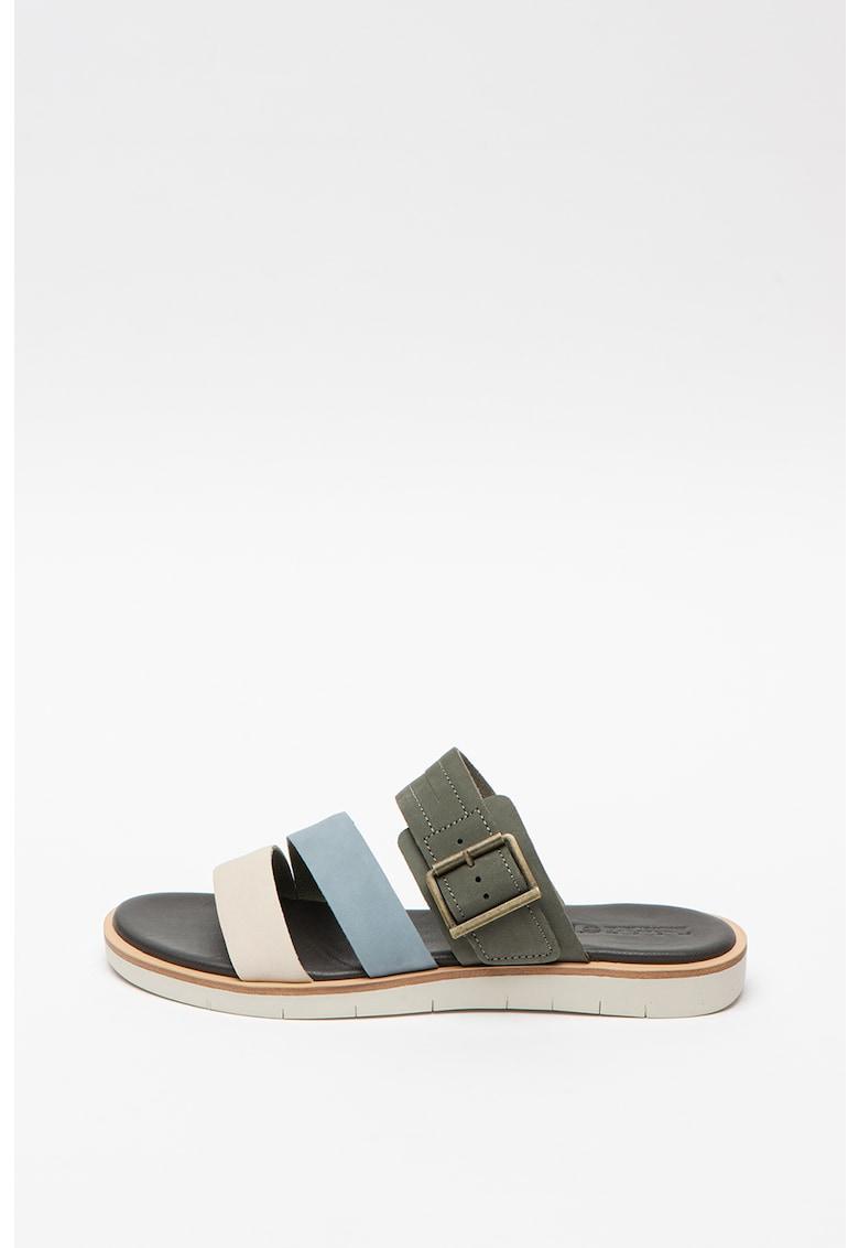 Papuci de piele Adlyshore
