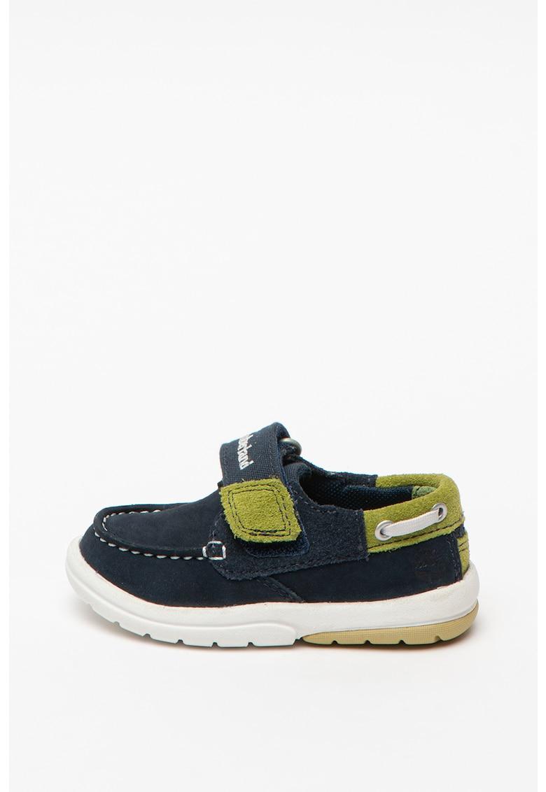 Pantofi boat cu velcro Toddletracks