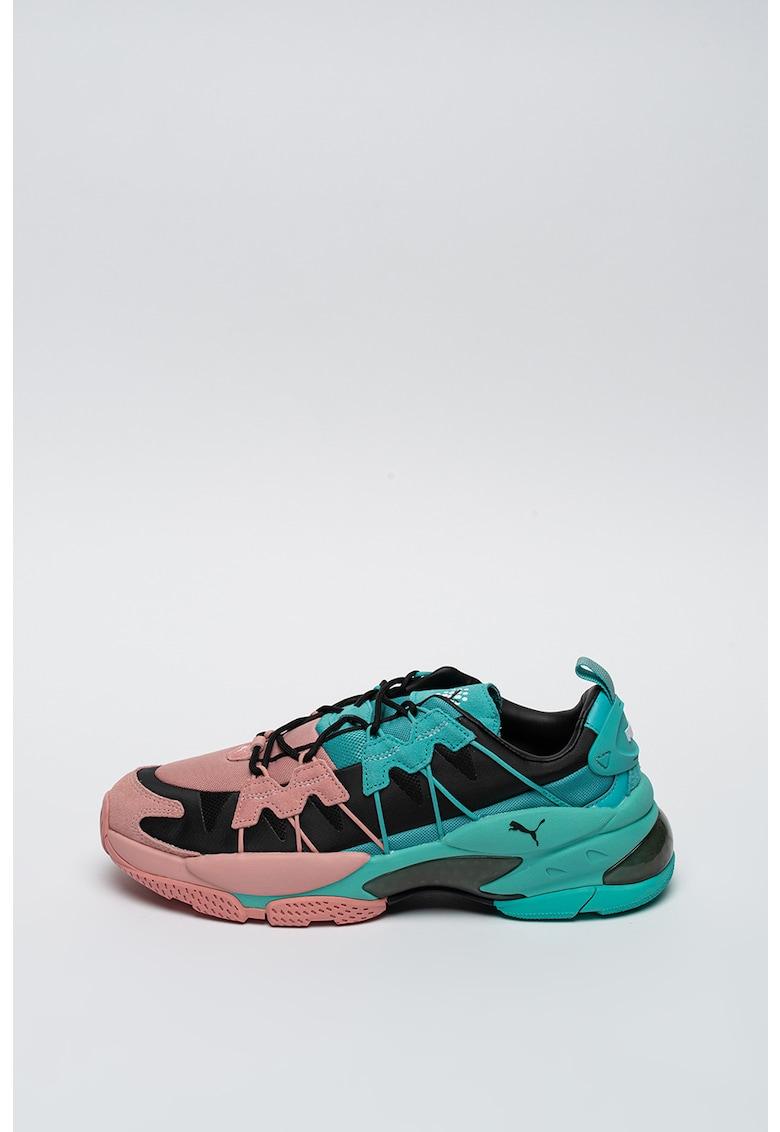 Pantofi sport cu aspect colorblock Cell Omega Manga Cult