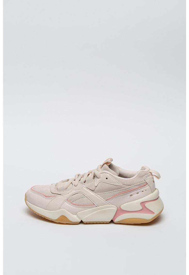 Pantofi sport de piele intoarsa Nova 2