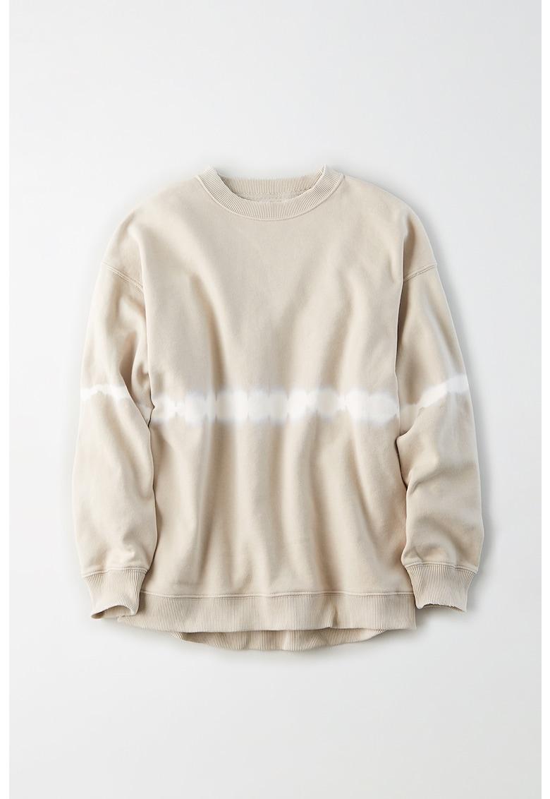 Bluza sport cu detalii tie-dye