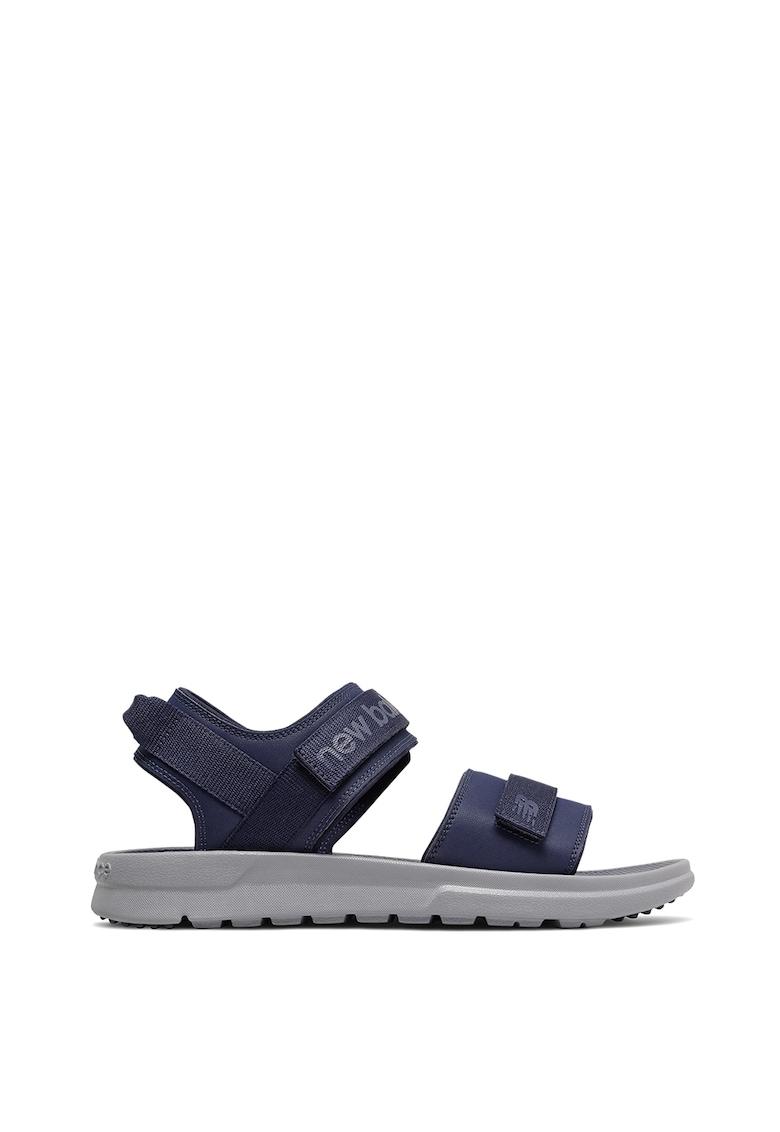 Sandale cu velcro si logo 250 fashiondays.ro