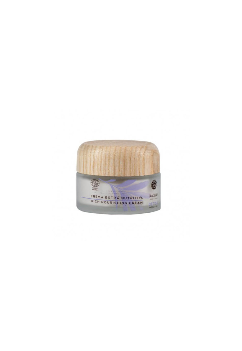NAOBAY Crema nutritiva de noapte  Detox pentru ten uscat si deshidratat - 50 ml