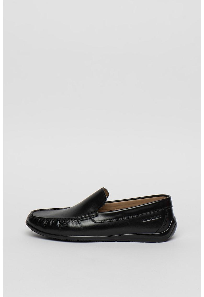 Pantofi loafer de piele Leman fashiondays.ro