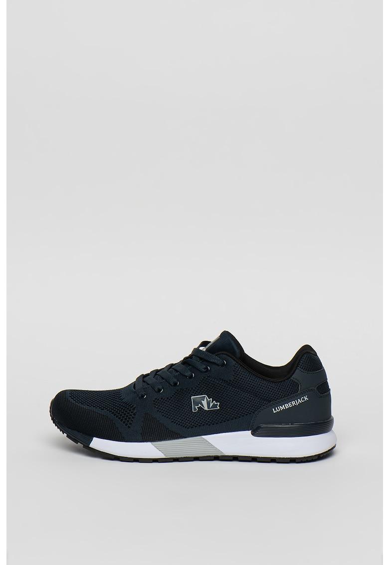 Pantofi sport din plasa cu garnituri din piele ecologica Vendor imagine fashiondays.ro 2021