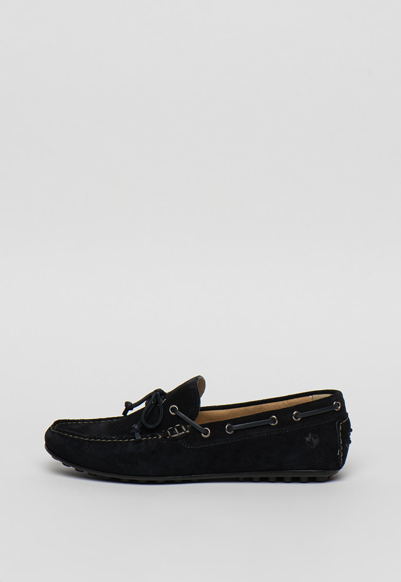 Pantofi boat de piele intoarsa Drive imagine fashiondays.ro 2021