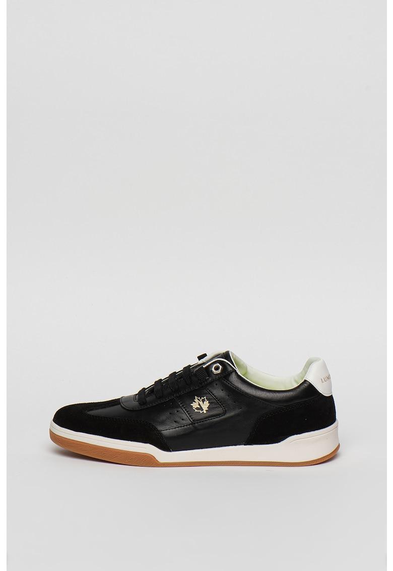 Pantofi sport din piele si piele ecologica Elite 1