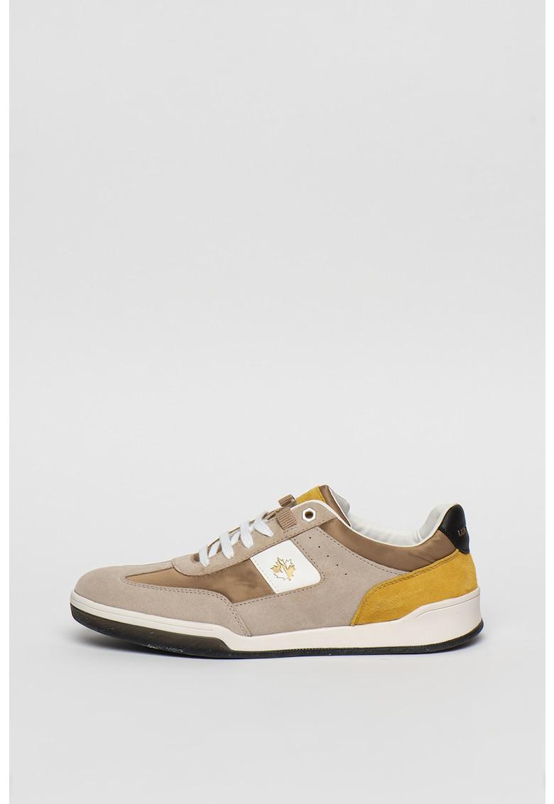 Pantofi sport din piele intoarsa cu model colorblock Elite 1